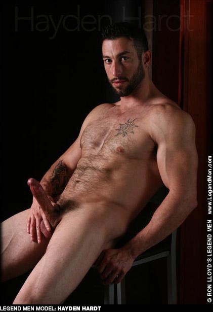 Hayden Hardt Handsome Muscle Hunk Ron Lloyd Legend Model & Solo  Gay Porn Star Gay Porn 135242 gayporn star