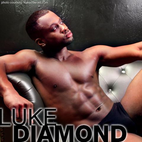 Luke Diamond Handsome Hung Black American Gay Porn Star Gay Porn 135258 gayporn star