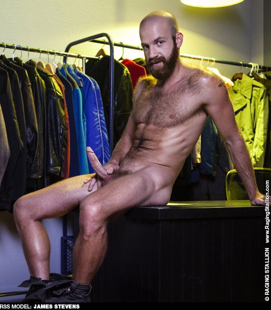 James Stevens Hairy Big Dick American Gay Porn Star Gay Porn 135386 gayporn star